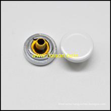 Plain Alloy Snap button in Flat Surface